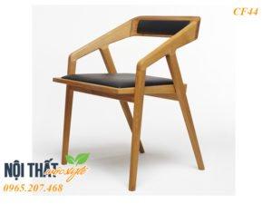 Ghế gỗ bọc nệm Katakana dáng đẹp, góc cạnh mướt mịn nhìn là mê