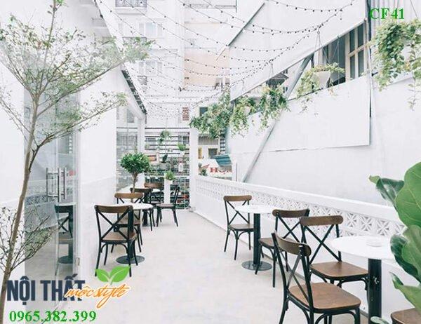 Ghế cafe CF41 - Điểm nhấn nhá nghệ thuật cho không gian quán phong cách Bắc Âu
