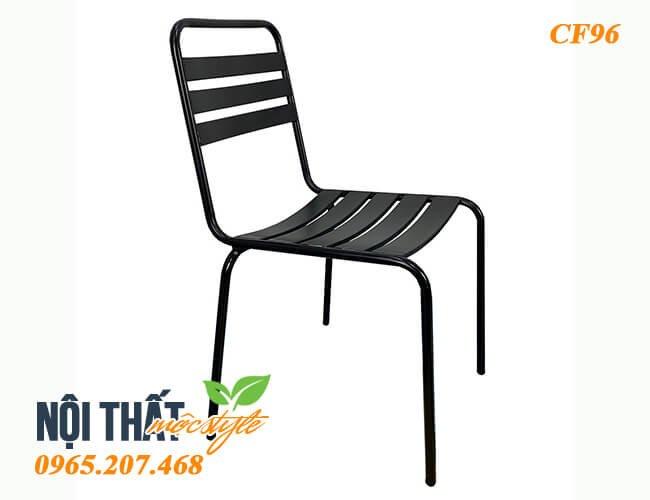 Ghế sắt cafe CF96 bền bỉ, tiết kiệm chi phí - Lựa chọn hoàn hảo cho quán ăn, quán cafe, không gian ngoài trời